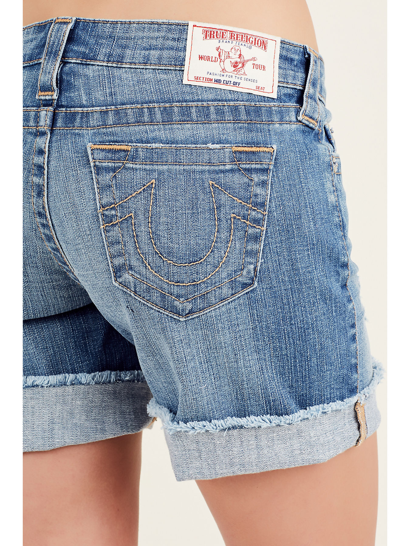 02c261839e MID CUT OFF WOMENS SHORT - True Religion