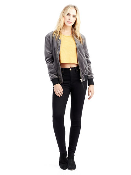 VELVET WOMENS BOMBER JACKET