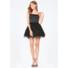 bebe deals on Bebe Womens Feather Fit & Flare Dress