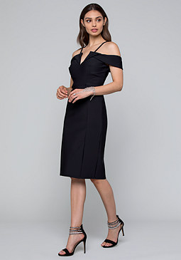 bebe Serena Bi-Stretch Dress