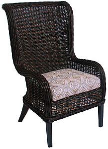 Ebel Bellevue Wingback Host Dining Chair
