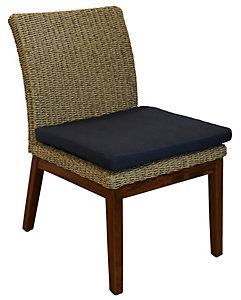 Jensen Leisure Coral Woven Side Chair Spectrum Indigo