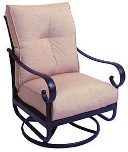 alu mont santa barbara swivel rocking lounge chair frequency sand