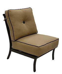 Castelle Monterey Armless Lounge Chair   Sailcloth Shadow    Patio.christysports.com