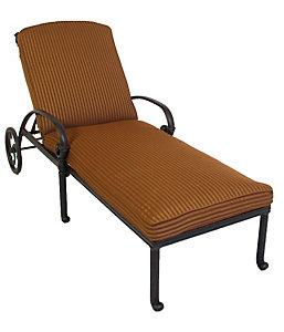 hanamint sienna chaise lounge chair wyndham mocha