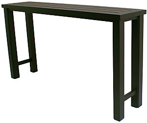 alu mont 16 x 70 counter height console table. Black Bedroom Furniture Sets. Home Design Ideas