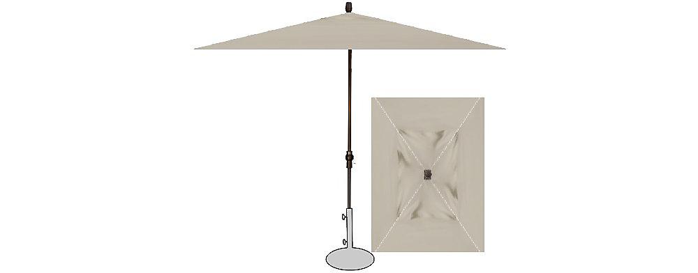 Treasure Garden 8 X11 Crank Lift Rectangle Umbrella