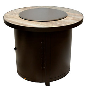 O W Lee 30 Round Capri Fire Pit Gl And Lid Venice Beach Patio Christysports