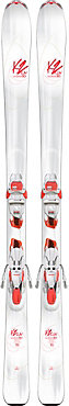 K2 Luv Struck 80 with ERC3 10 System Skis - Women's - 2017/2018