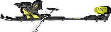 Salomon Guardian 16S Binding with 115mm Brake