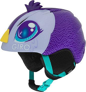 Giro Launch Plus Helmet (Purple Penguin) - Junior's