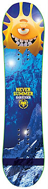 Never Summer Shredder Snowboard - Kids' - 2018/19
