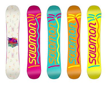 Salomon Oh Yeah Snowboard - Women's - 2015/2016