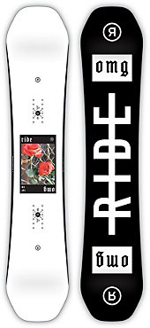 Ride OMG Snowboard - Women's - 2018/19