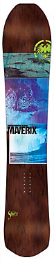 Never Summer Maverix LT Snowboard - Men's - 2018/19