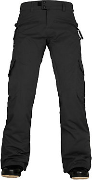 686 Authentic Mistress Black Cargo Pant - Women's - 2016/2017