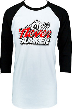 Always Winter Cold Mountain Raglan Tee - Men's