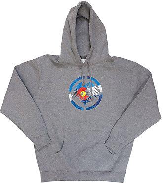 Never Summer Colorado Bells Pull Over Sweatshirt - Men's