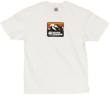 Never Summer Retro Mountain T-Shirt - Men's