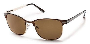 Suncloud Causeway Sunglasses Brown - Men's