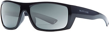 Native Distiller Sunglasses - Black with Gray Lens