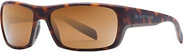 Native Eddyline Sunglasses - Desert Tort with Brown Lens