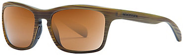 Native Penrose Sunglasses - Wood with Brown Lens