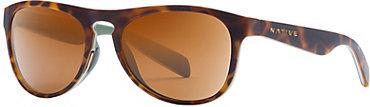 Native Sanitas Sunglasses - Desert Tort with Brown Lens