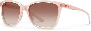 Smith Colette Sunglasses - Blush with Sienna Gradient Lens - Women's