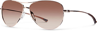 Smith Langley Sunglasses - Rose Gold with Sienna Gradient Lens