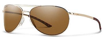 Smith Serpico Slim 2.0 Gold/ChromaPop Polarized Brown Sunglasses