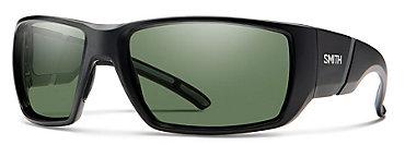 Smith Transfer XL Black/ChromaPop Polarized Gray Green Sunglasses