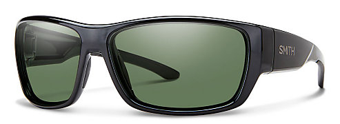 05a376b715 Smith Forge Black Polarized Gray Green Sunglasses