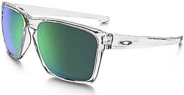 Oakley Sliver XL Clear with Jade Irdium Lens