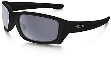 Oakley Straightlink Sunglasses - Matte Black with Gray Lens