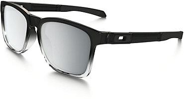 Oakley Catalyst Sunglasses - Dark Ink Fade with Chrome Iridium Lens