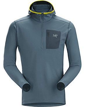 Arc'teryx RHO LT Hooded Zip Neck - Men's