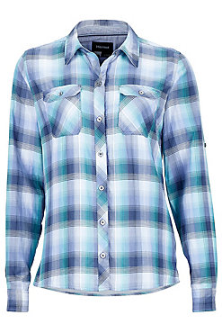 Marmot Evelyn Plaid Long Sleeve Shirt - Women's