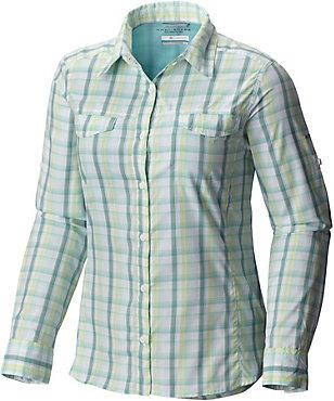 Columbia Silver Ridge Lite Plaid Long Sleeve Shirt - Women's