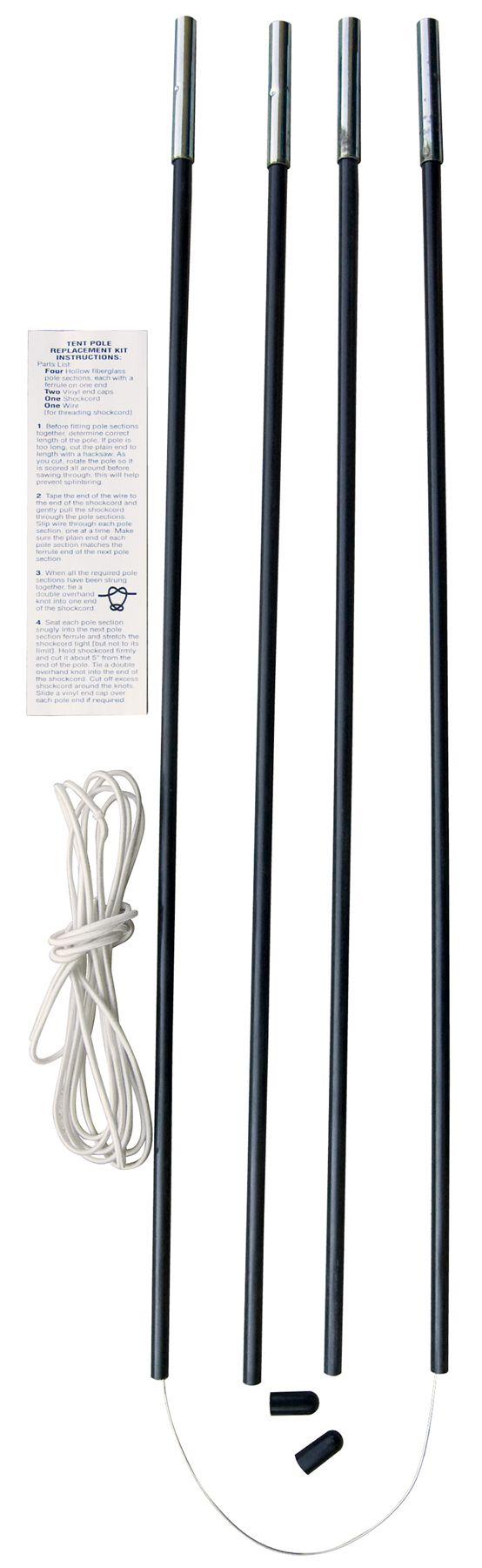 Eureka! 11mm Fiberglass Tent Pole Repair/Replacement Kit  sc 1 st  Field u0026 Stream & Eureka! 11mm Fiberglass Tent Pole Repair/Replacement Kit | Field ...