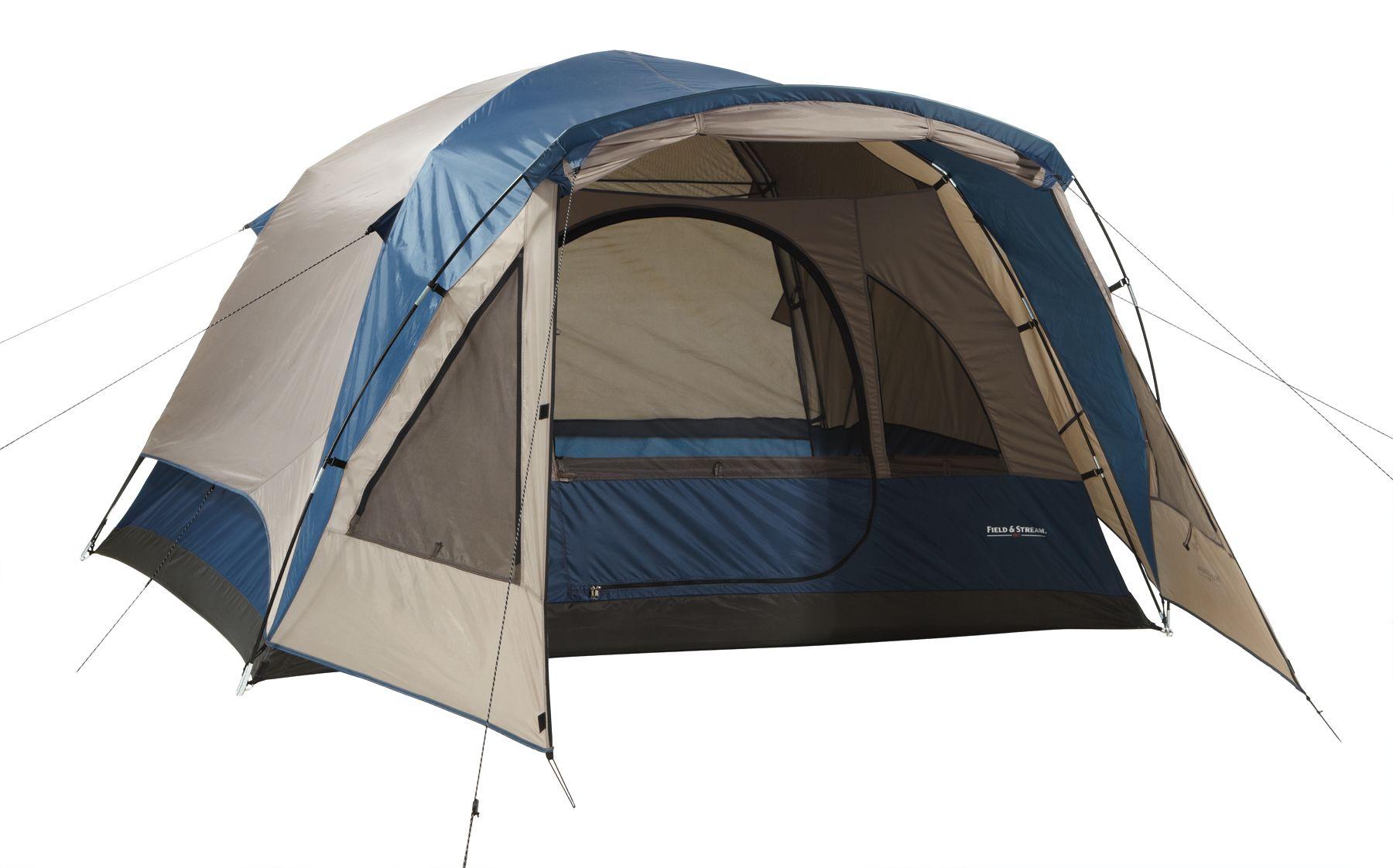 Field u0026 Stream Wilderness Lodge 4 Person Dome Tent  sc 1 st  Field u0026 Stream & Camping Tents - Dome Family u0026 Backyard | Field u0026 Stream