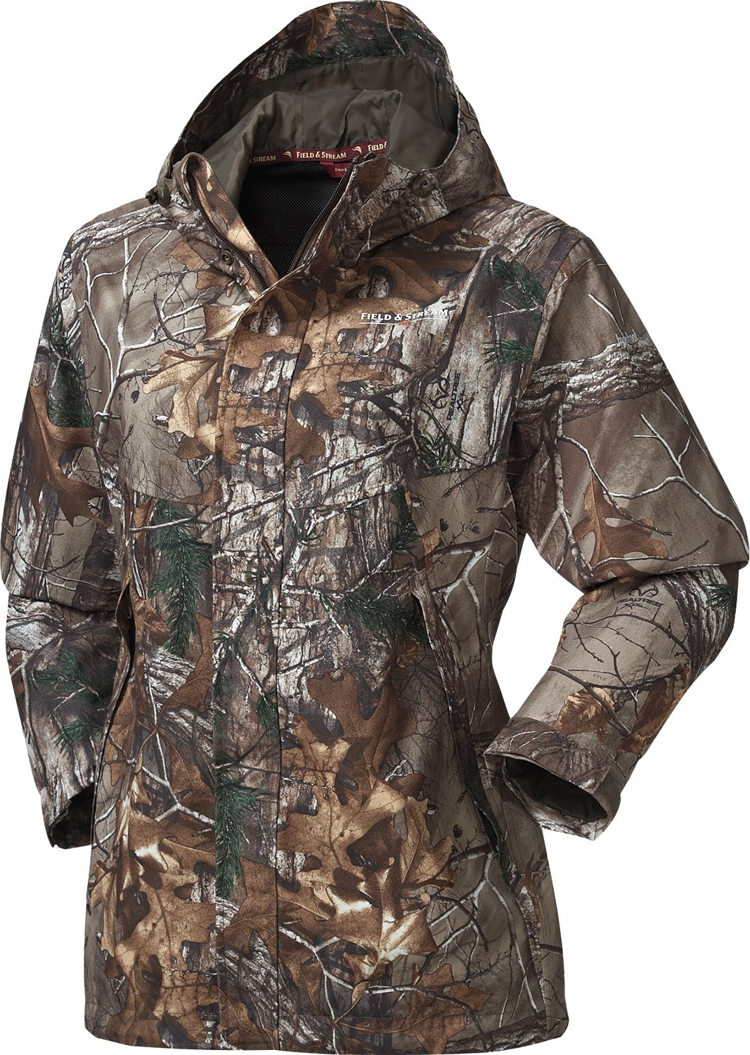 Realtree men's 4 in 1 system parka