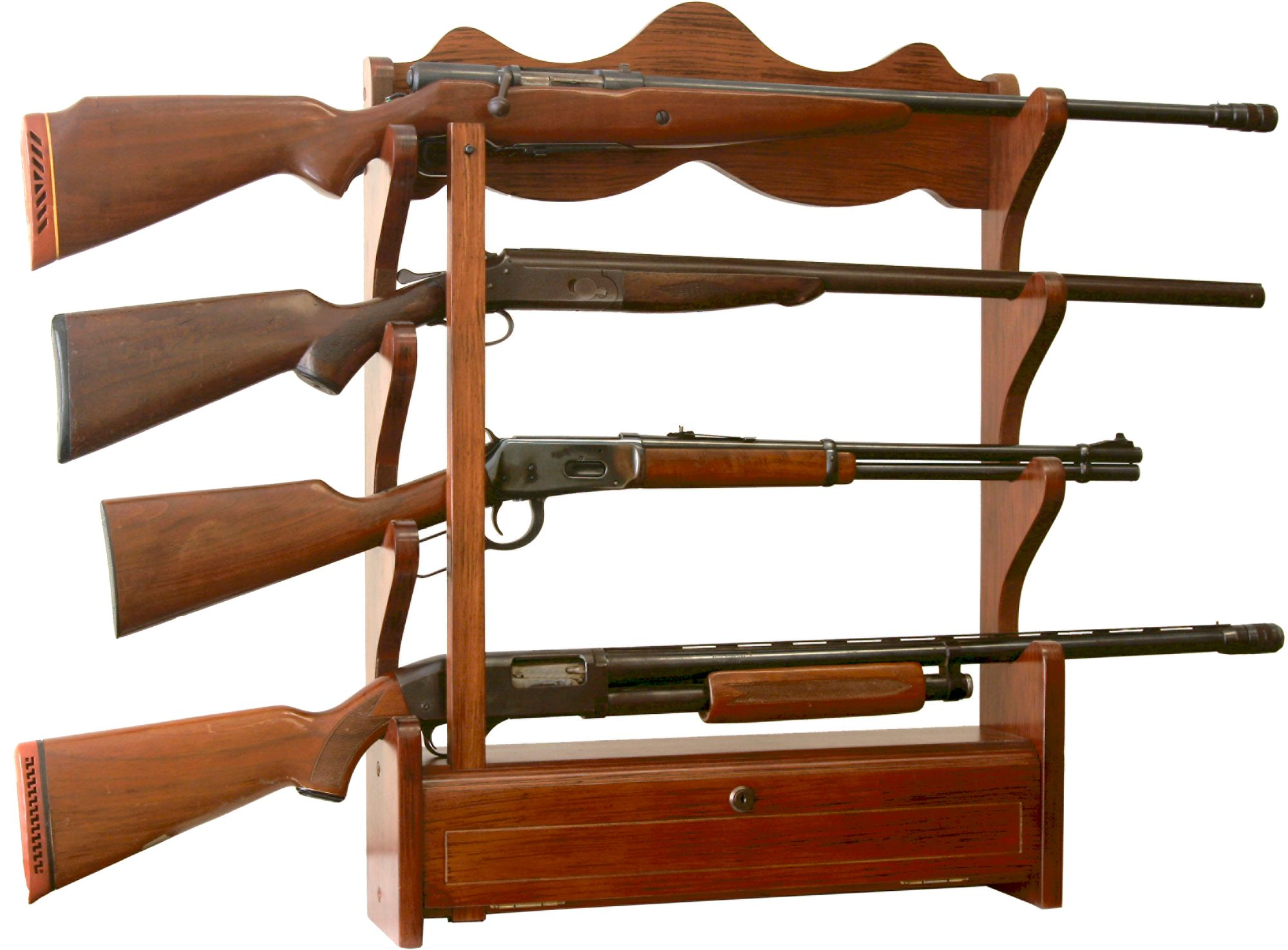 furniture rta walmart classics american ip gun slider curio com cabinet combination