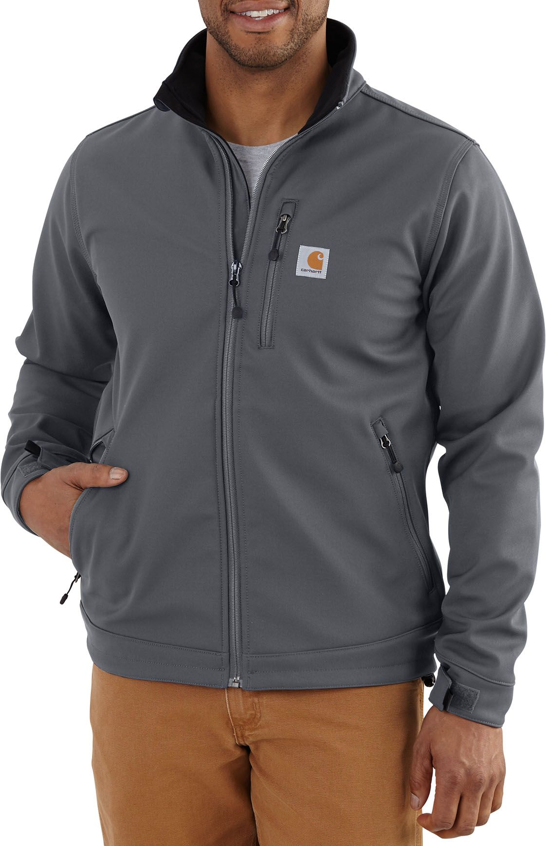 Carhartt Light Work Jacket: Carhartt Men's Crowley Soft Shell Jacket
