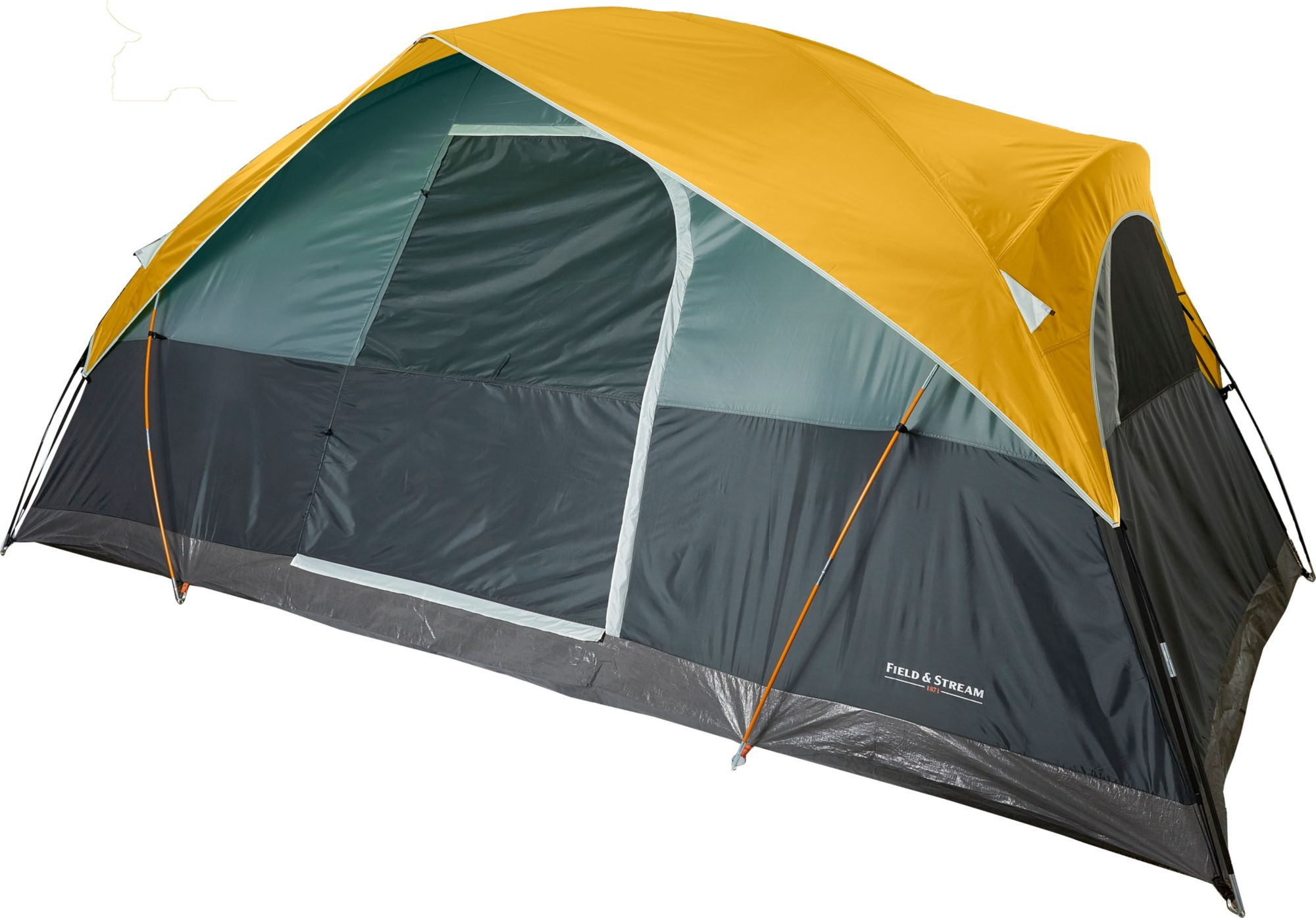 Field u0026 Stream Quad 8 Person Recreational Dome Tent  sc 1 st  Field u0026 Stream & Camping Tents - Dome Family u0026 Backyard | Field u0026 Stream