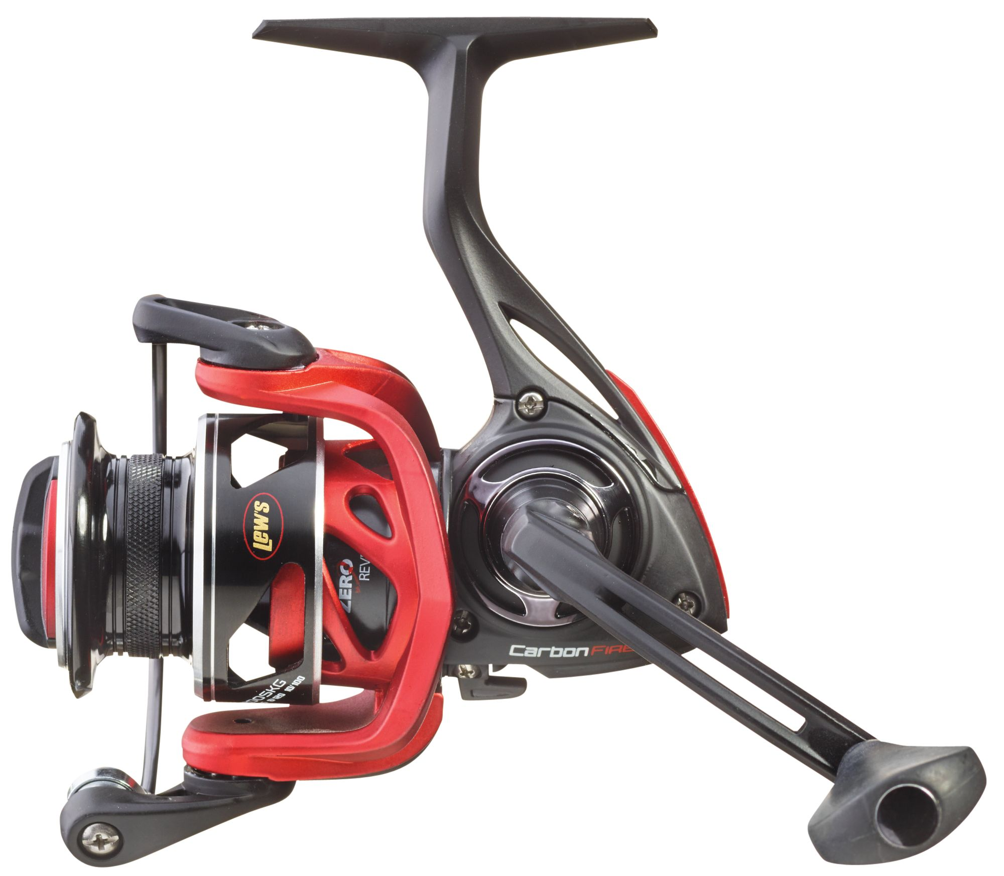 Lew 39 s carbon fire sk speed spinning reel field stream for Open reel fishing pole