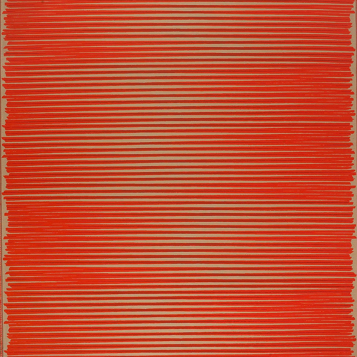 Painting Strokes Vermilion Swatch