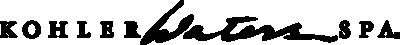 Kohler Waters Spa logo