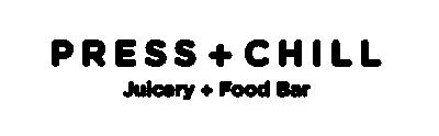 Press + Chill logo
