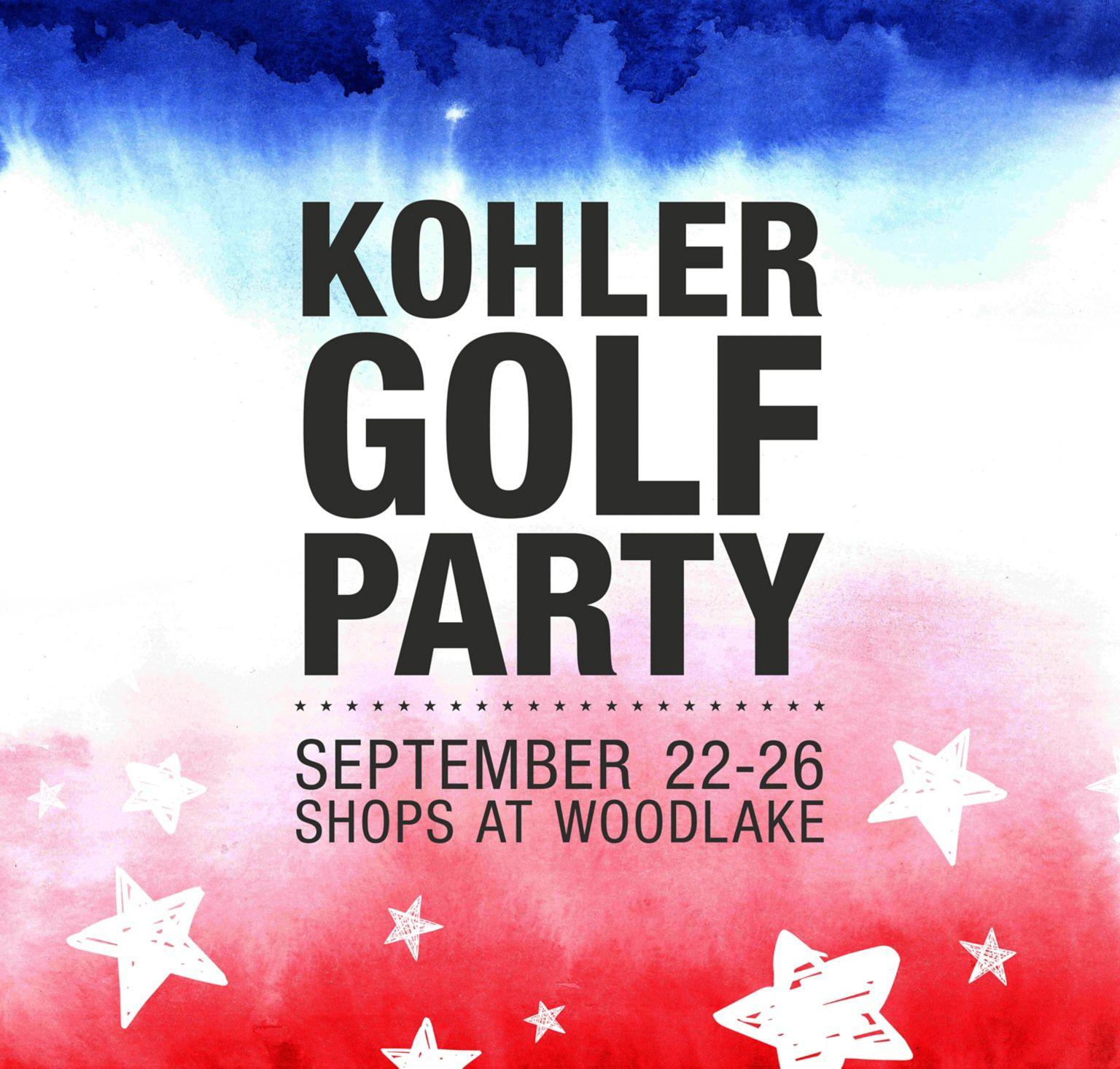 Kohler Golf Party
